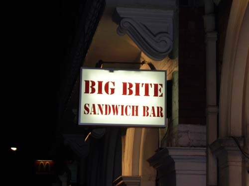 Big Bite sandwich bar