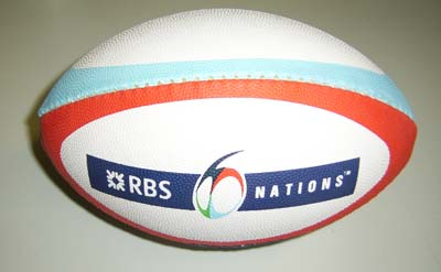 balon rugby 6 nations
