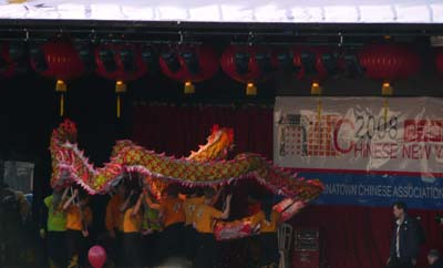 China New Year London Dragon