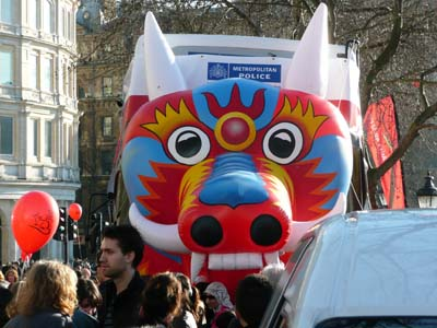China New Year London Metropolitain Police