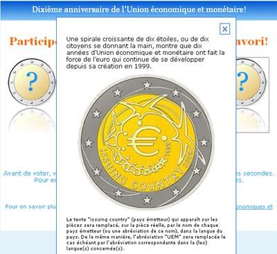 Vote euros 10 ans