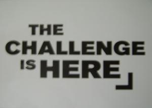 Challenge is here