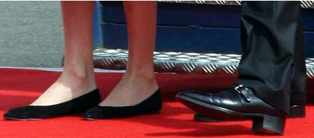 Nicolas Sarkozy chaussures