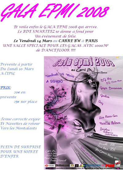 Gala EPMI 2008