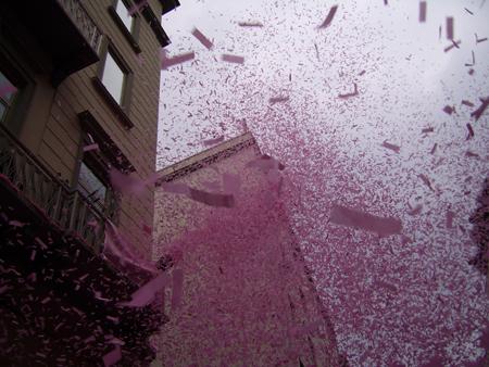 Papiers rose