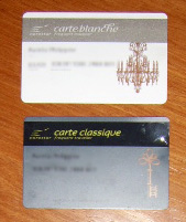 cartes eurostar