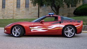 Corvette police usa