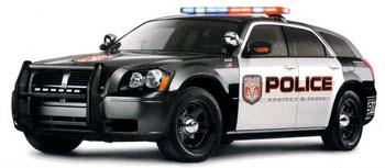 Dodge magnum police usa
