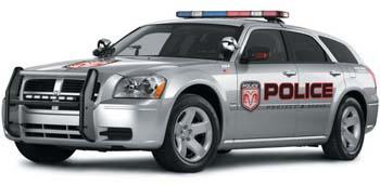 Dodge magnum police usa grise