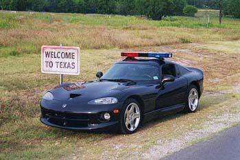 Dodge viper police usa
