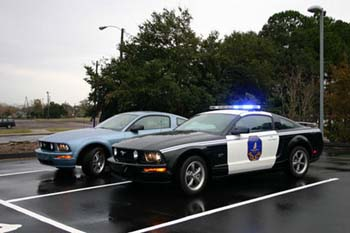 Ford mustang police usa