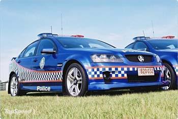 Holden police australie
