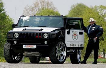 Hummer police usa