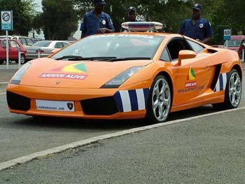 Lamborghini Gallardo police Arabie Saoudite