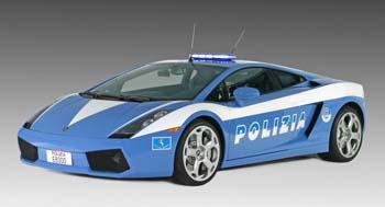Lamborghini Gallardo police Italie