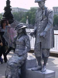 Londres statues 1