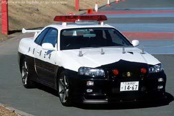 Nissan police japon
