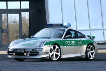 Porsche police allemagne