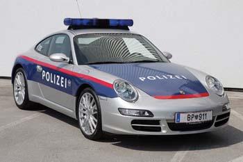 Porsche police autriche