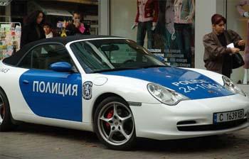 Porsche police bulgarie