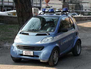 Smart police Italie