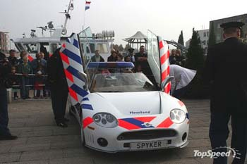 Spyker police pays-bas